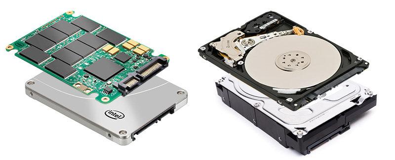 Из двух видов накопителей наша компания выбирает SSD