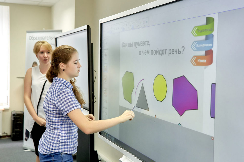 Интерактивная панель для школы