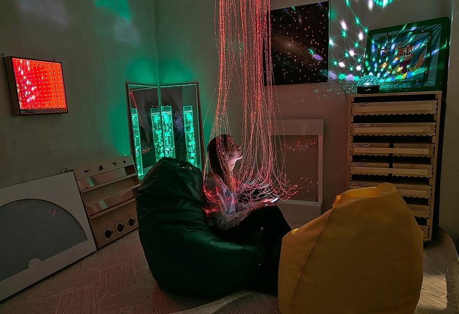 Оборудование для сенсорной комнаты психолога